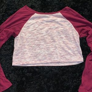 Pacsun Long Sleeve Crop Top